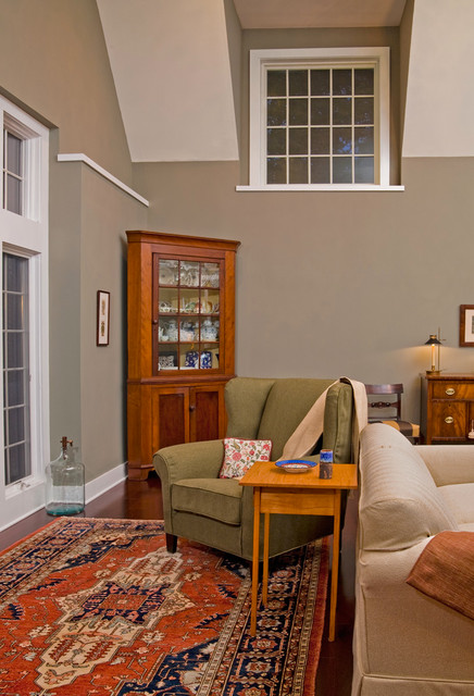 Contemporary Cape in Bucks County, PA traditional-living-room