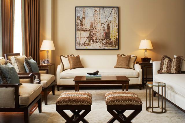 contemporary classic - american traditional - living room - toronto