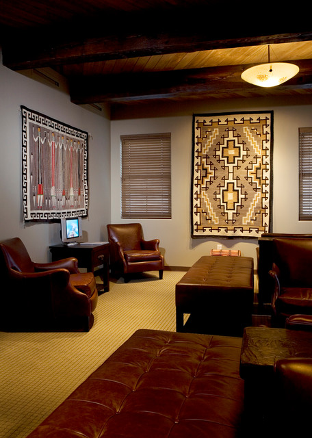 Contemporary Comfort Santa Fe Interior Design