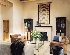 Contemporary Comfort - Santa Fe Interior Design mediterranean-living-room