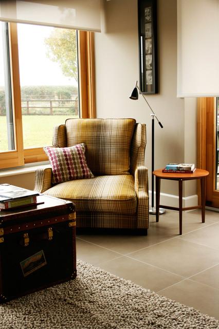 Contemporary Family Home contemporary-living-room