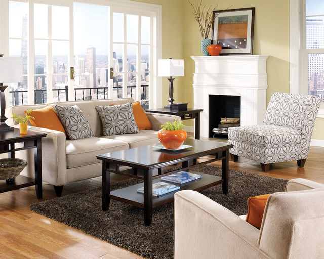 Contemporary Furniture Style Fits Your Needs Contemporary Living Room Chicago By Brook