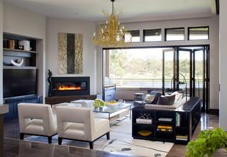 Contemporary Haven Contemporary Living Room Denver