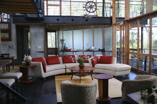 Contempory Home contemporary-living-room