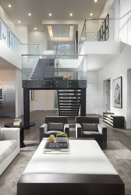 Contemporary Home In Fort Lauderdale Contemporary Living Room Miami By Britto Charette