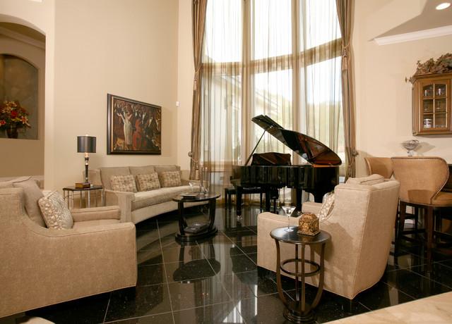 Contemporary Homerun traditional-living-room