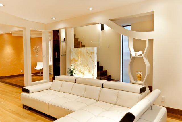 Contemporary House contemporary-living-room