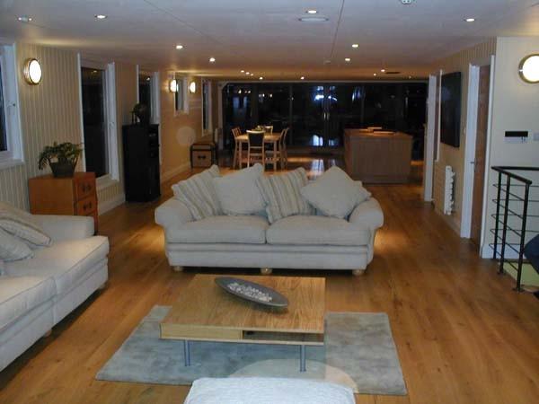 Contemporary Houseboat Living Room contemporary-living-room