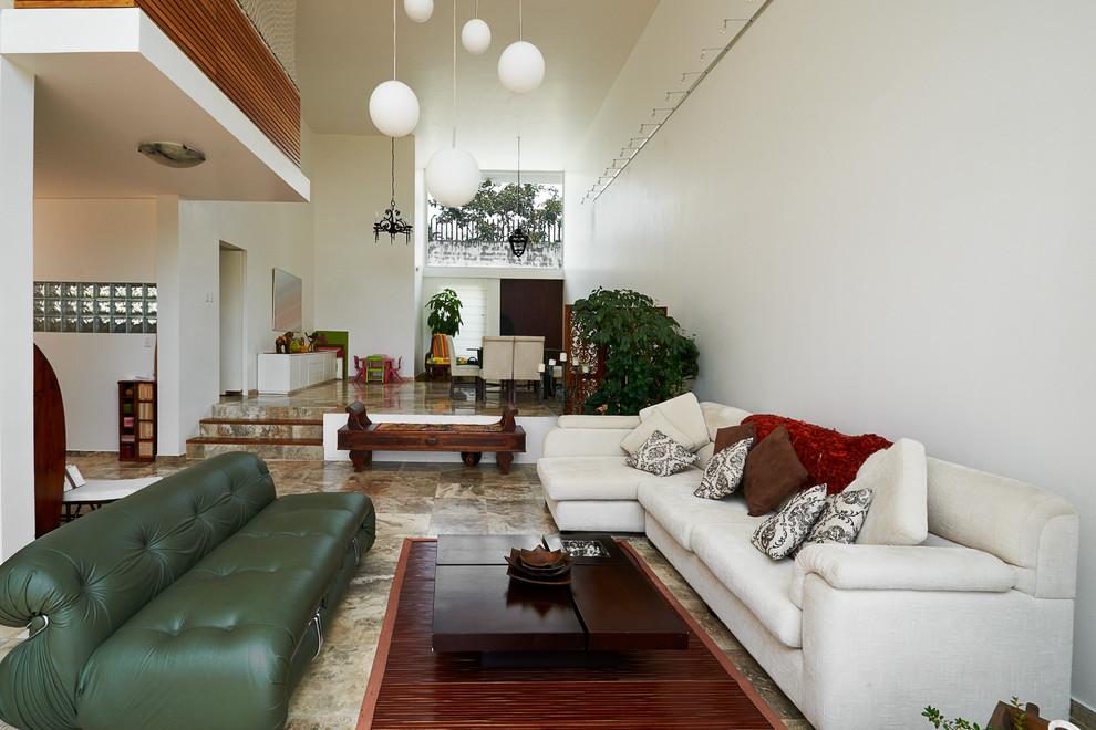 Contemporary Interior Design Bangalore Eclectic Living Room