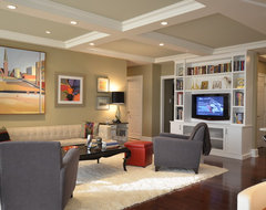 Contemporary Kitchen traditional-living-room