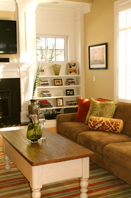 Traditional Contemporary Living Room Decor: Contemporary Living Room