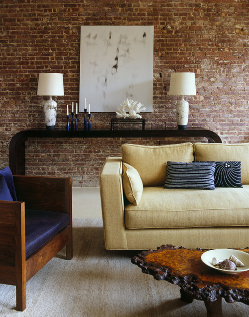 West Chelsea Loft contemporary living room