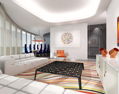 Icon Residence contemporary living room