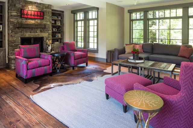Contemporary Living Room contemporaneo-soggiorno