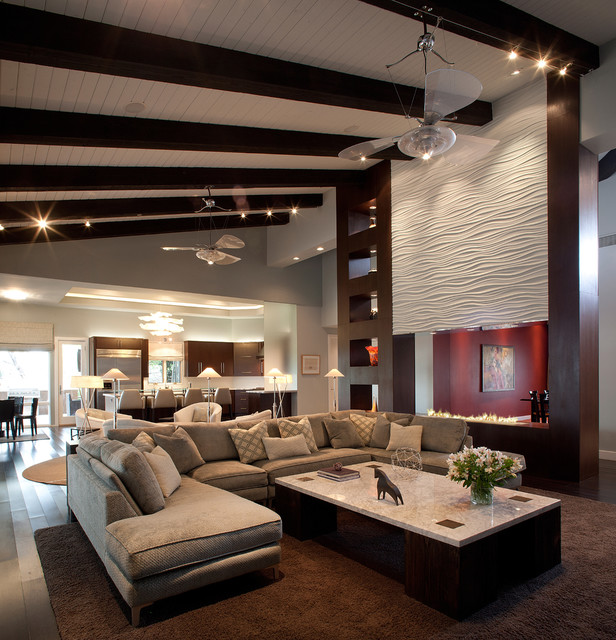 southwest contemporary southwestern living room phoenix