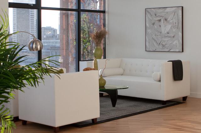 Contemporary Condo contemporary-living-room