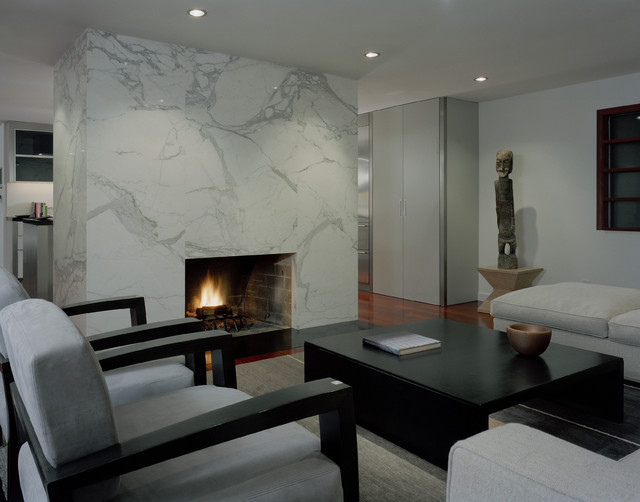 Living Room - Contemporary - Living Room - Seattle - by Garret ...