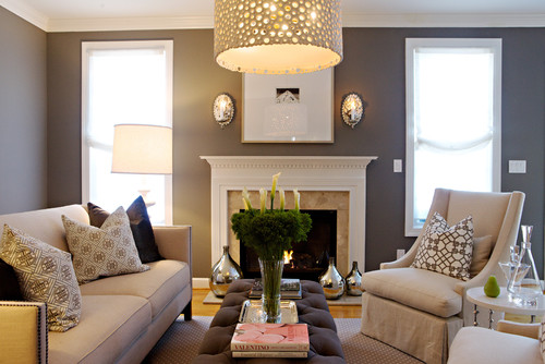 Heather Garrett Design contemporary living room