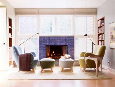 BILLINKOFF ARCHITECTURE PLLC contemporary-living-room