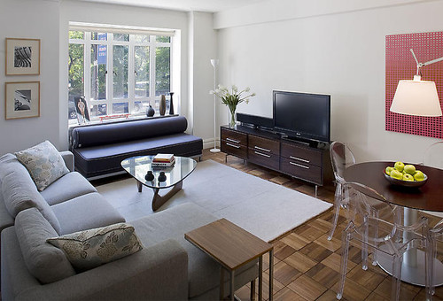 James Wagman Architect, LLC - Apartment - CPW 2P contemporary living room