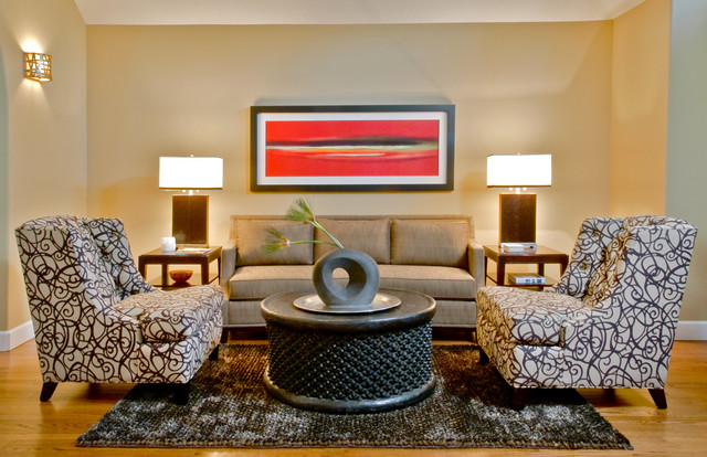 Jason Ball Interiors contemporary living room