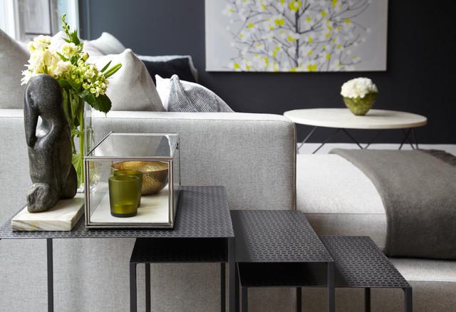 Project In Progress Contemporary Living Room Toronto