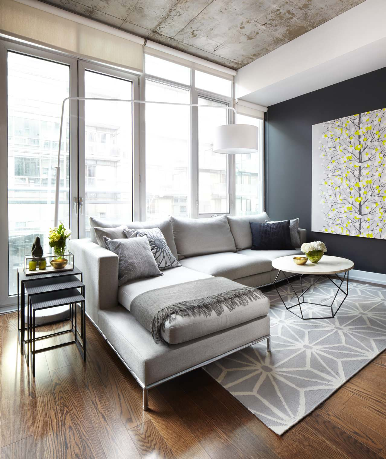 75 Beautiful Gray Living Room Pictures Ideas April 2021 Houzz