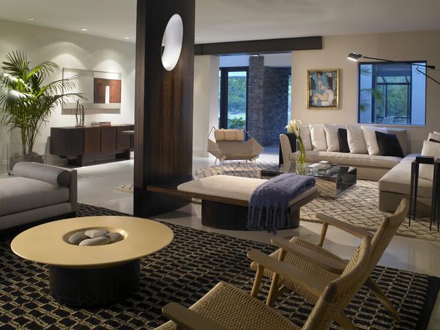 SNAPPER CREEK contemporary-living-room