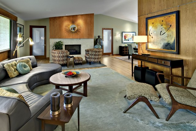 Houzz Com Kitchen Minneapolis Mid Century Modern Designer