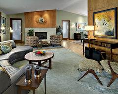 Contemporary Living Room modern-living-room