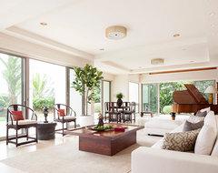Modern Makeover contemporary-living-room