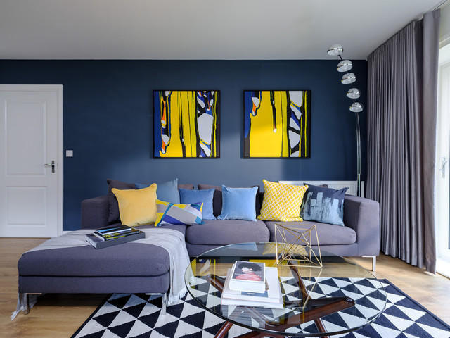 Will These Blue Sofa Ideas Tempt You To Ditch The Grey Houzz Ie