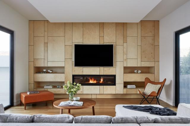 Contemporary Living Room - Contemporary - Living Room - Melbourne
