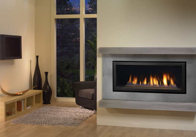 Regency Horizon HZ40 modern gas fireplace Contemporary  : contemporary living room from www.houzz.com size 640 x 448 jpeg 63kB