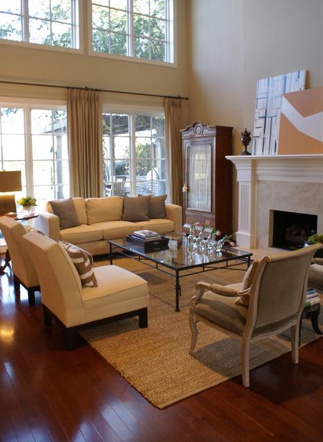 Plano, TX Modern Home contemporary-living-room