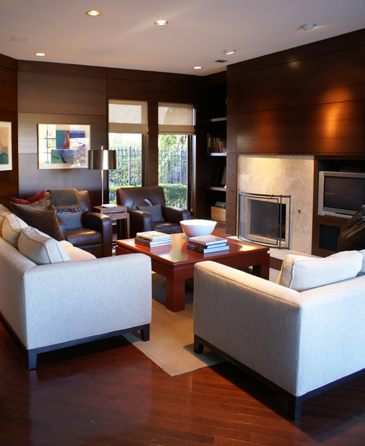 Living Room Contemporary Living Room Austin By
