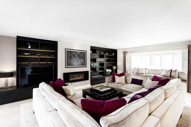 Joinery - Contemporary - Living Room - London - by Emma Hooton Ltd
