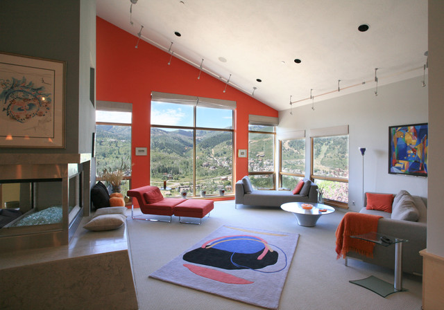 April Mountain Residence contemporary-living-room