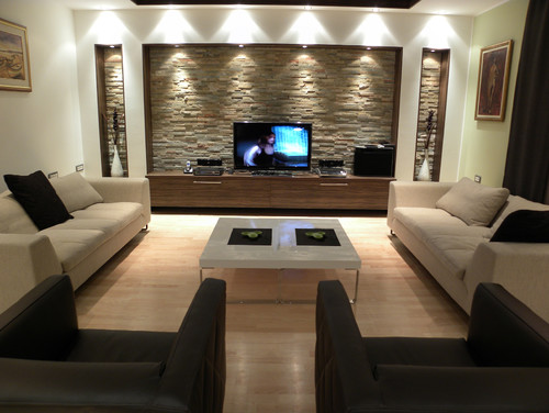 Highlight Walls in Living Spaces