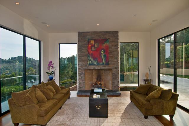 California - Luxury Residental Homes contemporary-living-room