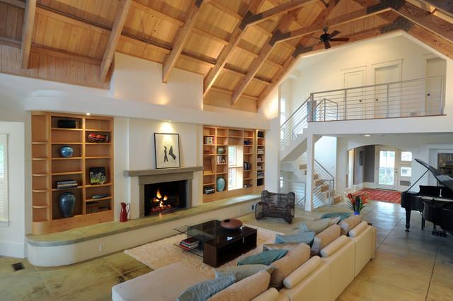 Contemporary residence contemporary-living-room