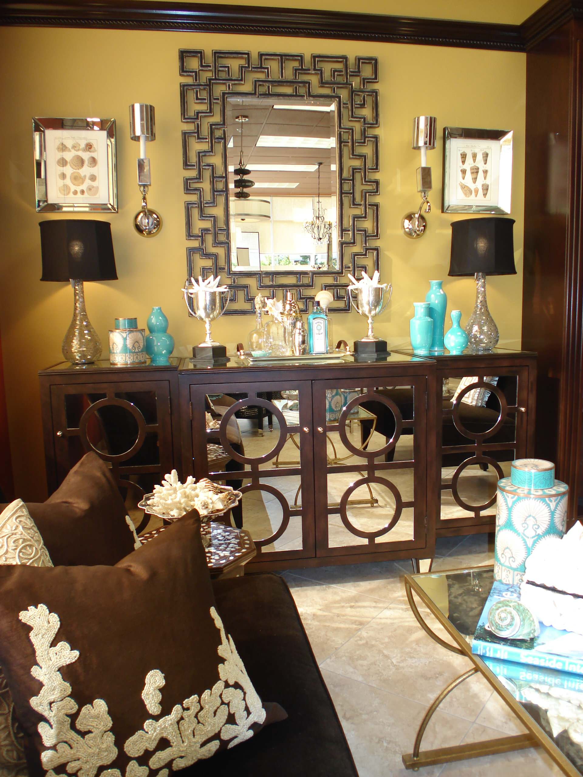Chocolate Brown And Turquoise Ideas & Photos   Houzz