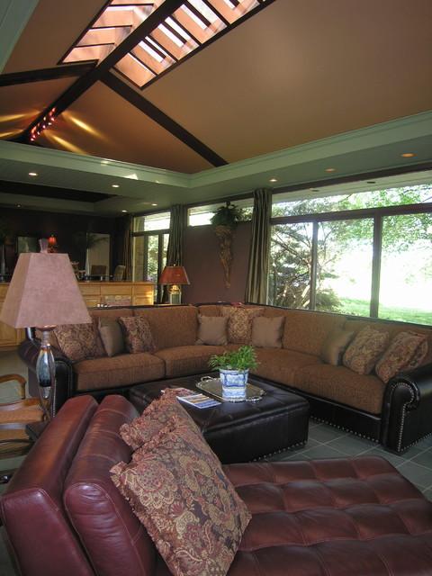 Contemporary livingroom by Howard Wiggins Interior Design ...