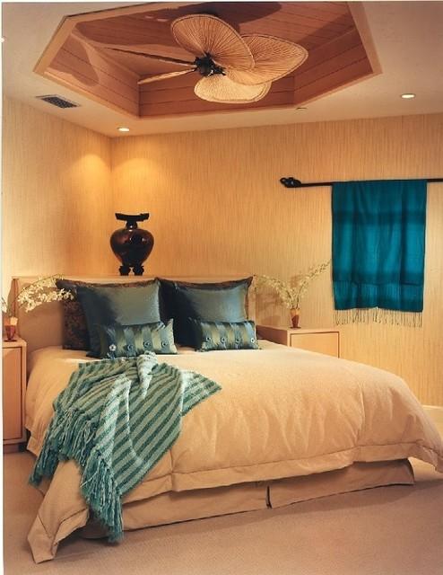 Tropical Interiors tropical-living-room