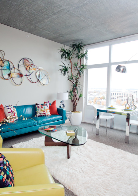 Living Room Ideas Turquoise Red Yellow