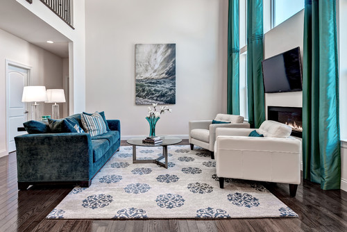 Elegant Where Is This Gorgeous Rug From.It Complements The Turquoise In Room.