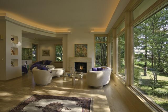Contemporary on Medicine Lake contemporary-living-room