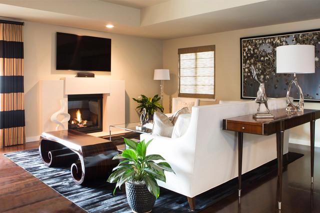 Contemporary pasadena condo living room contemporary for The family room pasadena