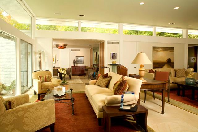 Contemporary Pepper Pike Residence modern-living-room