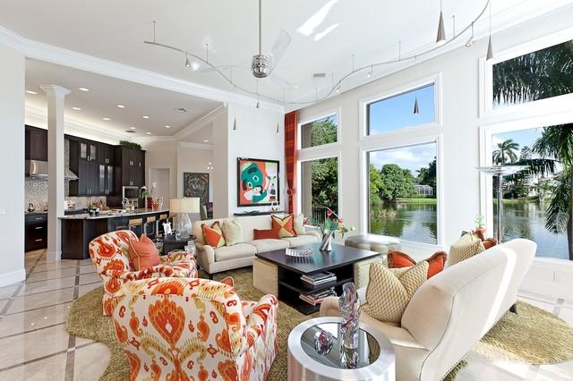Contemporary Project 1 Contemporary Living Room